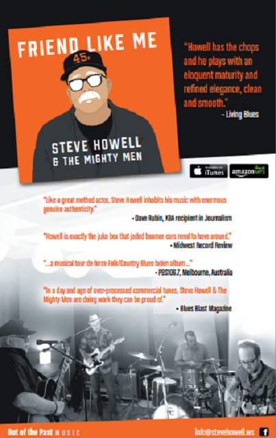 steve Howell CD Release reviews